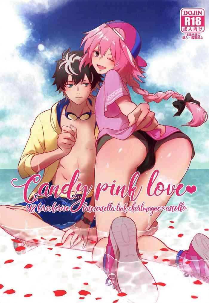 candy pink love cover