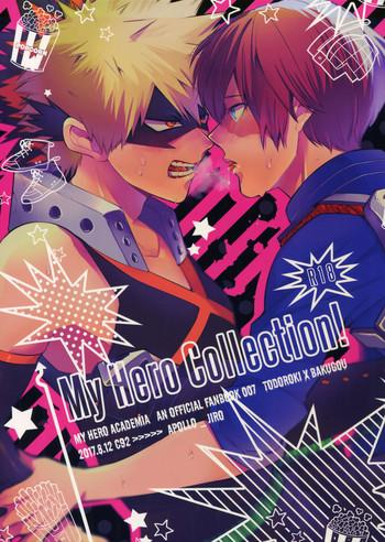 my hero collection cover